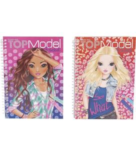 7857 CUADERNO PARA COLOREAR, TOP MODEL