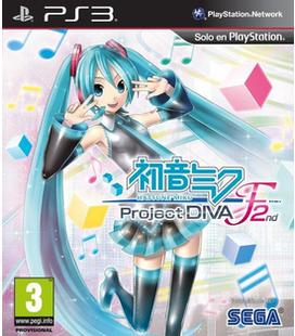 Hatsune Miku Project Diva F 2nd Ps3
