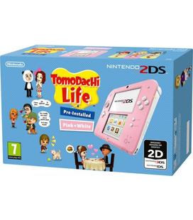 Consola 2Ds Rosa + Tomodachi Life
