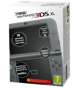 Consola New 3Ds XL Negro Metálico