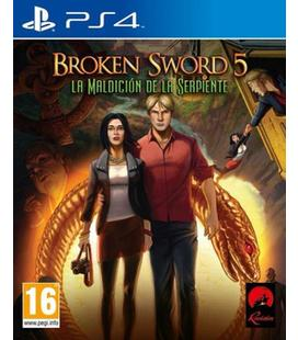 Broken Sword 5 La Maldicion Serpient Ps4