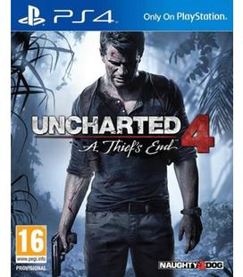 Uncharted 4: El Desenlace del Ladrón Ps4
