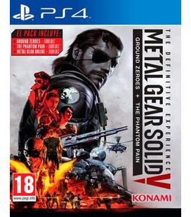 Metal Gear Solid V: Definitive Exper Ps4