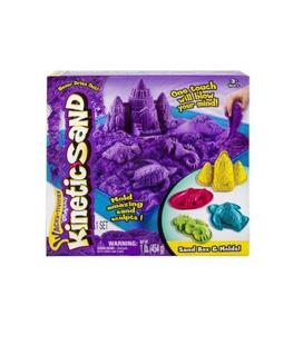 arena moldeable kinetic sand playset castillo