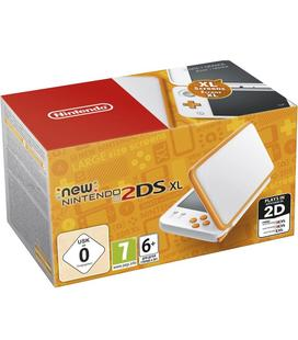 Consola Nintendo New 2DS XL Blanco / Naranja