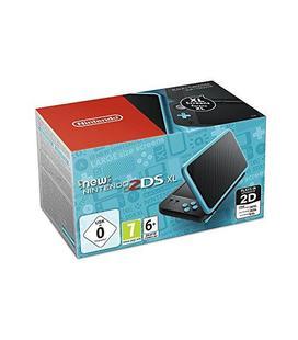 Consola Nintendo New 2DS XL Negro / Turquesa