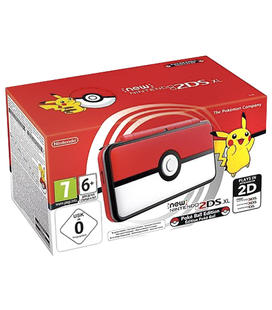 Consola New 2Ds XL Edición Pokeball