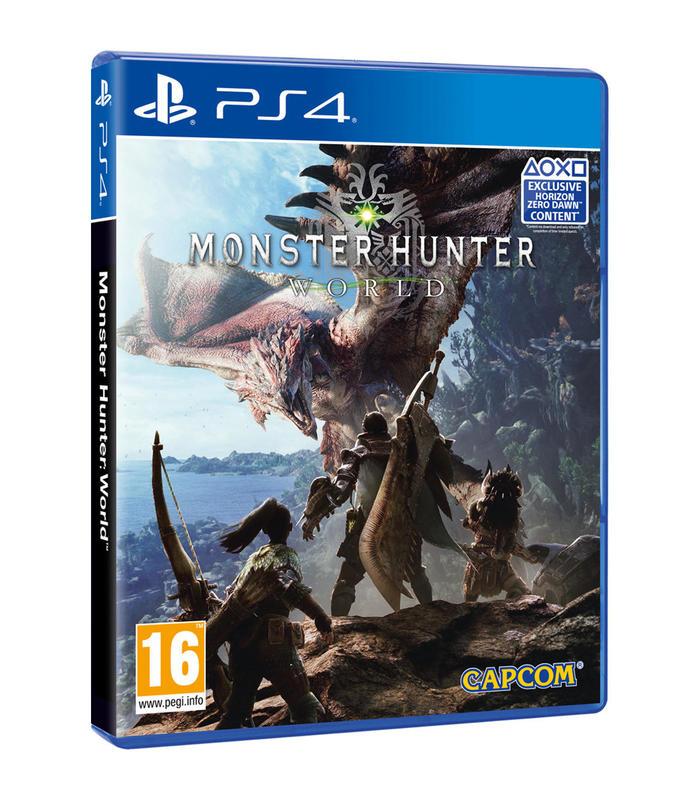 Monster Hunter World Ps4 PREVENTA entrega 26/01/2018